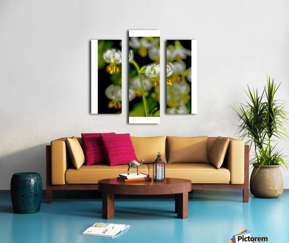 Jardin de Métis - 7 Canvas print