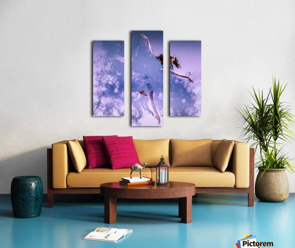 Smoke & Mirrors Canvas print