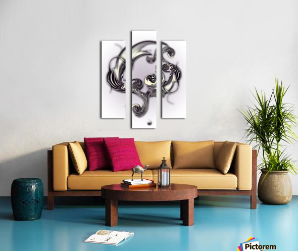 Sketch of Inverse Poetry Canvas print