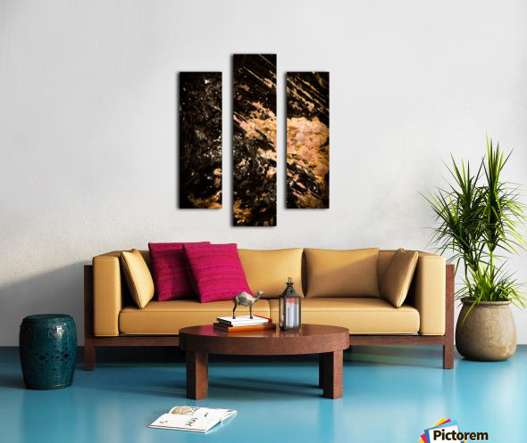 Mineral Gold  Impression sur toile