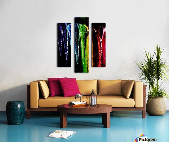 Chakra happy  Canvas print