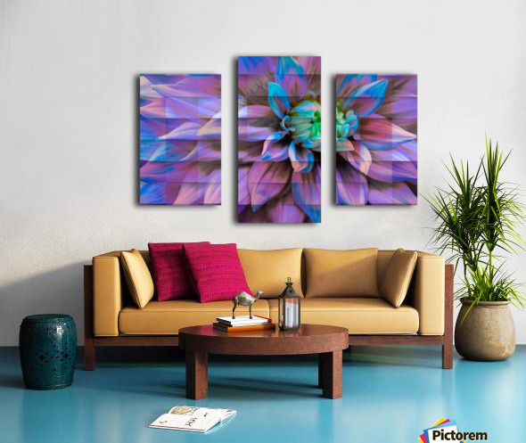 Avatarian Flower  Canvas print