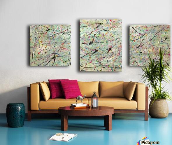 ABSTRACTION SPACIALE Canvas print