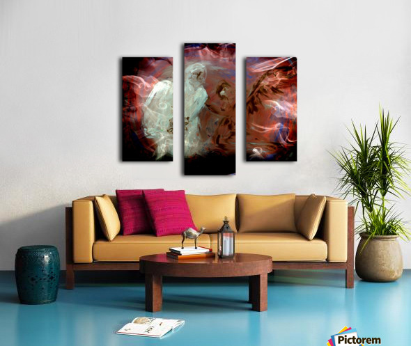 Bens Angel 10 Canvas print