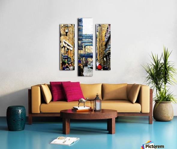 Shad Thames Street View Canvas print