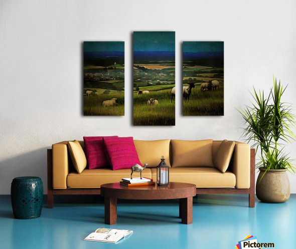 South Downs View Canvas print