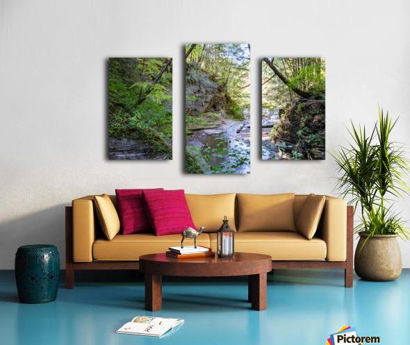 Eagle Cliff Falls 19 Canvas print