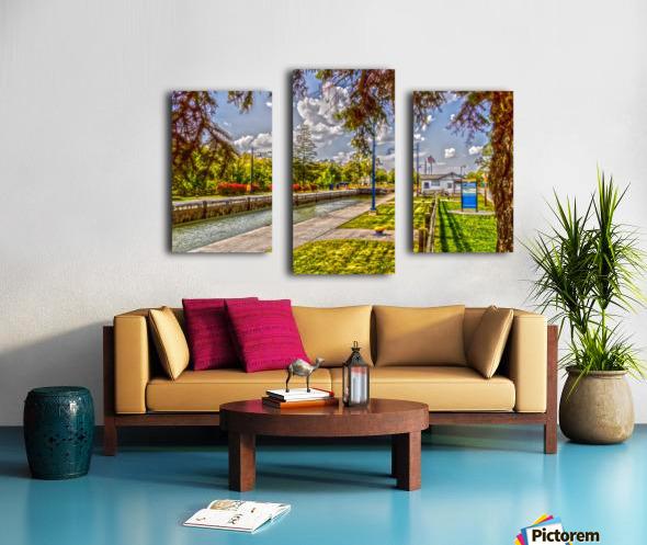 Lock 33 Park Canvas print