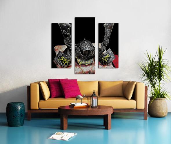 Samurai Helmet  Canvas print