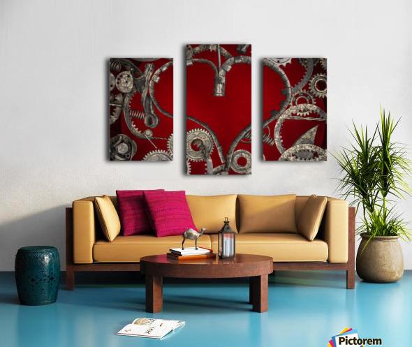 Mechanical Love Canvas print