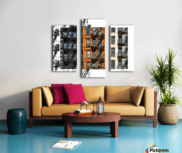 New York - SoHo  Canvas print