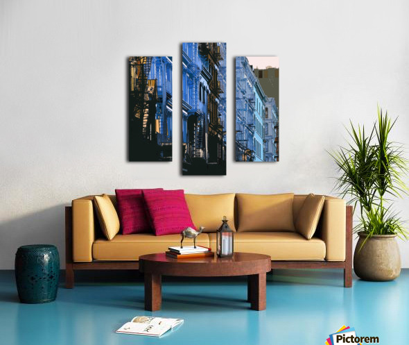 New York - SoHo  Canvas print