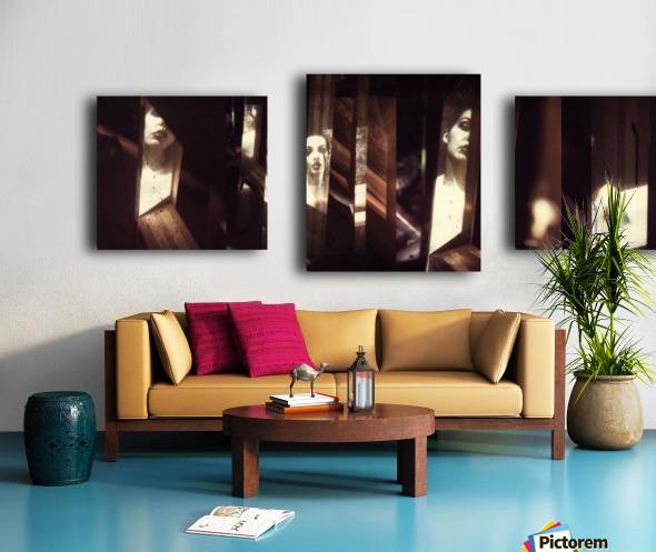 Intermédialité Canvas print