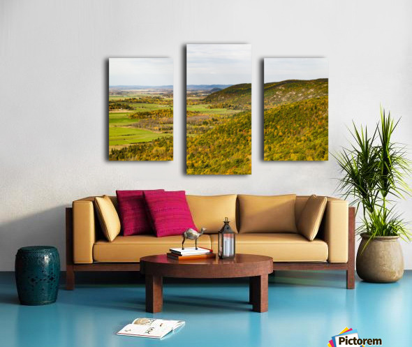 View of Ottawa Valley in Autumn 20 Canvas print