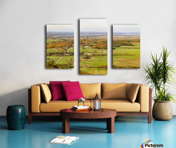 View of Ottawa Valley in Autumn18 Canvas print