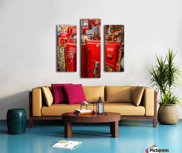 Coca Cola - Montreal Canvas print