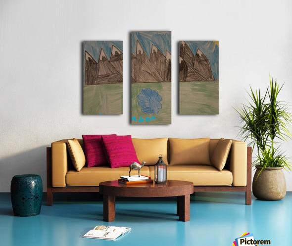 Mountain Peak Canvas print