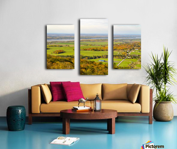 View of Ottawa Valley in Autumn17 Canvas print