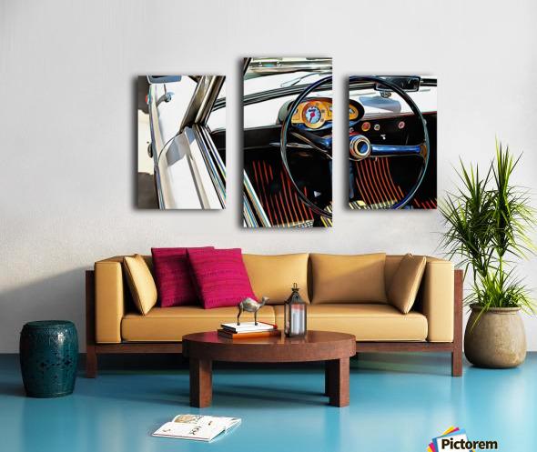 Autobianchi Bianchina Through The Window Canvas print