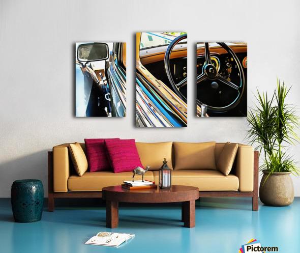 Fiat 508 Balila Through the Window Canvas print