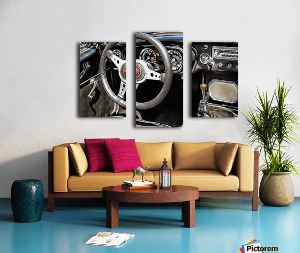 MG B Glance At Interior Canvas print