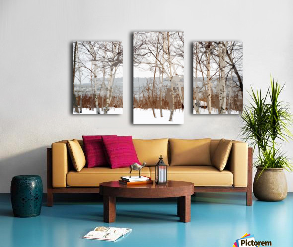 Canal Lachine Canvas print