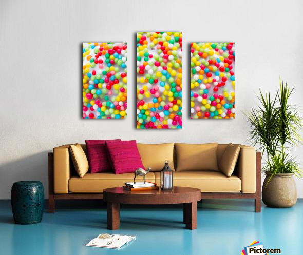 Colors of rainbow Canvas print