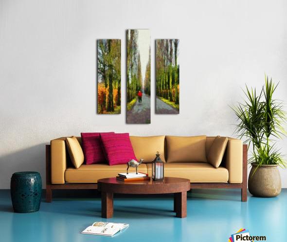 Cemetry Road Canvas print