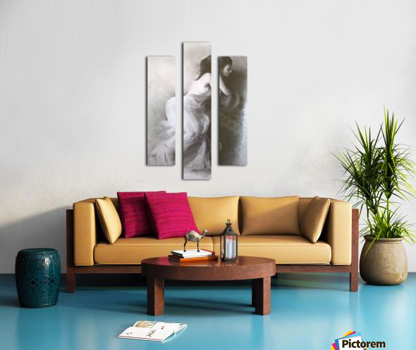 after... Canvas print