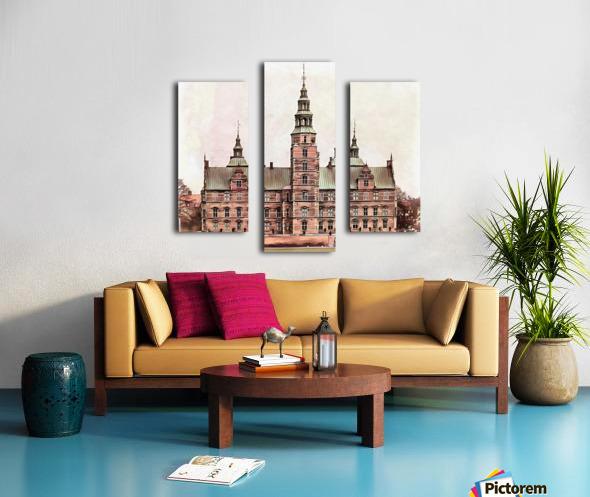 Rosenborg Castle Copenhagen Canvas print