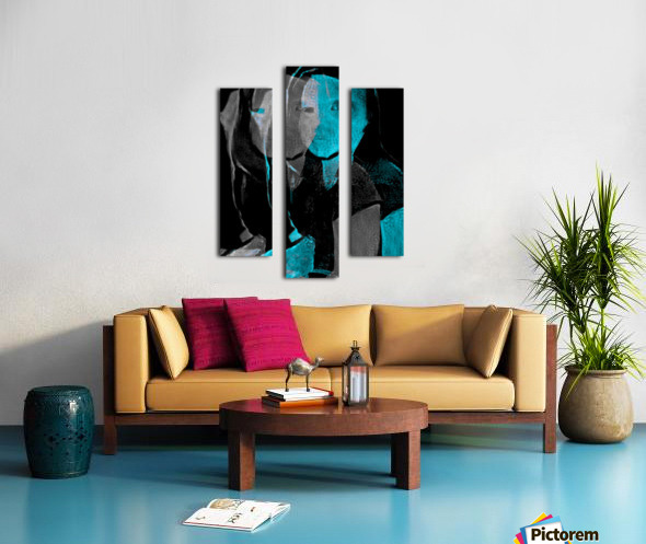 People Drawing (24) Canvas print