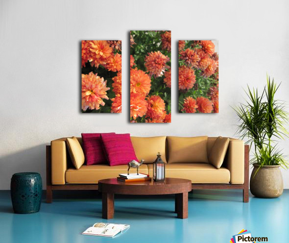 Flowers (53) Canvas print