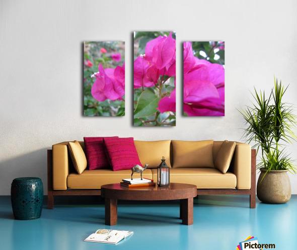 Flowers (47) Canvas print