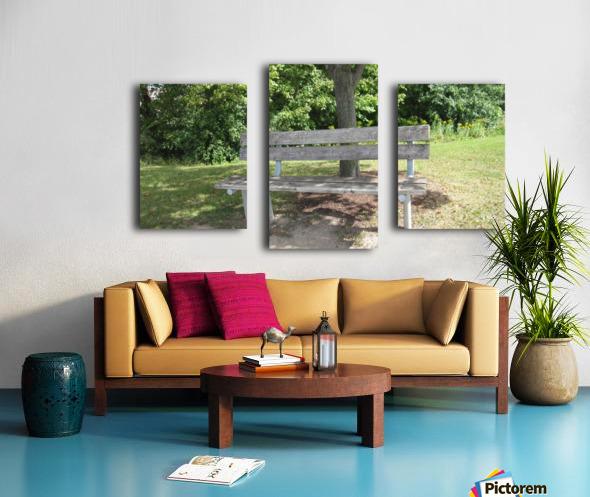 Bench (10) Canvas print