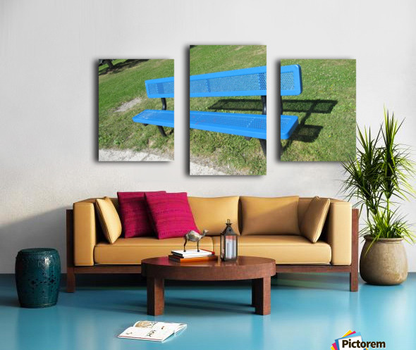 Bench (19) Canvas print