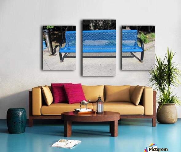 Bench (64) Canvas print