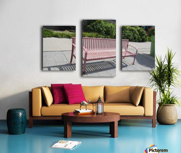 Bench (50) Canvas print