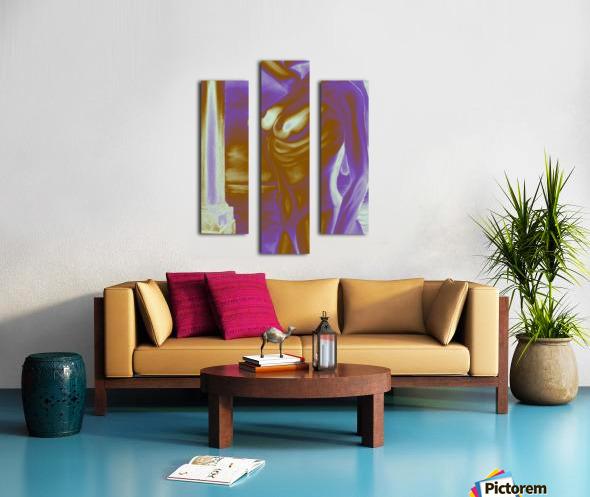 Violet Inspiration Canvas print