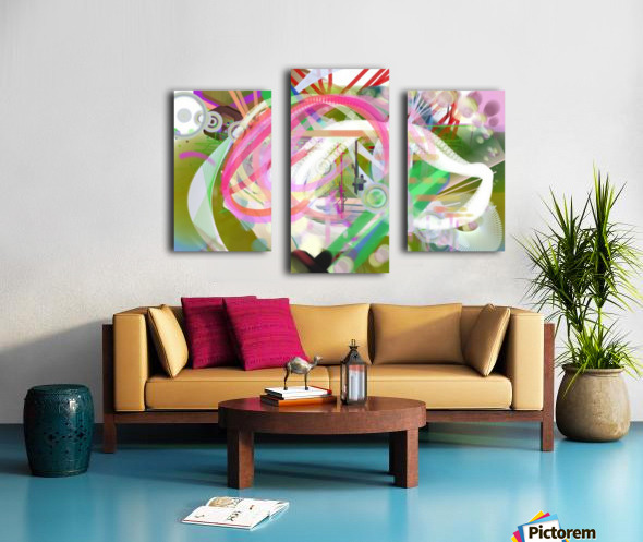 New Popular Beautiful Patterns Cool Design Best Abstract Art (3) Canvas print