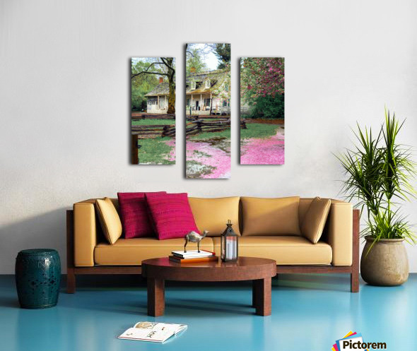Prospect park Brooklyn Canvas print