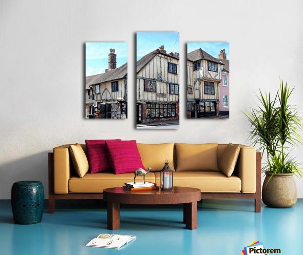Ye Olde Bookshop Lewes front view Canvas print