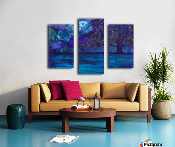 Lost in Purple Canvas print