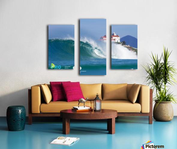 2017 RIO PRO Surf Competition Print Canvas print
