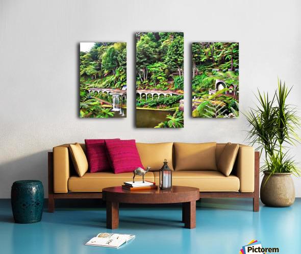 Jardim Tropical Monte Palace 5 Canvas print