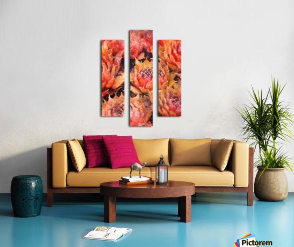 Flowers art Canvas print