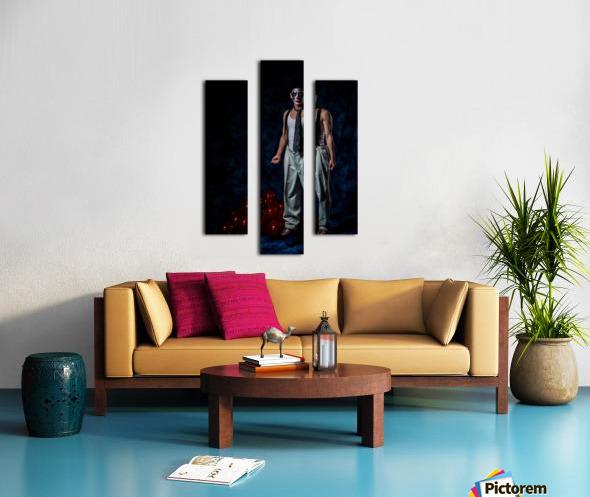 Le Bouffon Canvas print