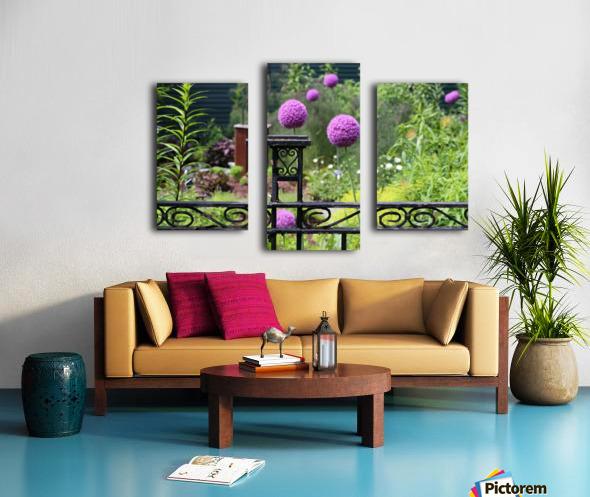 In the Garden 2018 Canvas print