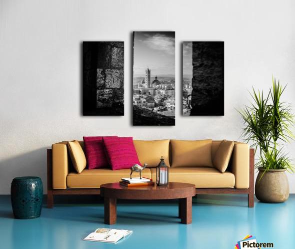 Bnw Siena Tower Canvas print