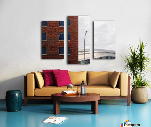Memory is Composition... Canvas print