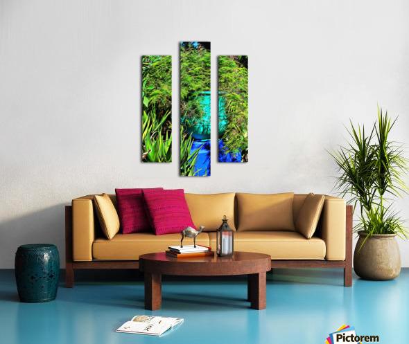 Colorful Plant Pots Marrakech 4 Canvas print
